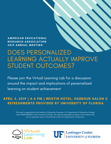 American Educational Research Association Meeting Flyer